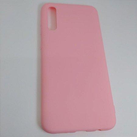 Capinha de celular para Samsung A50 ou A30S - Rosa Claro
