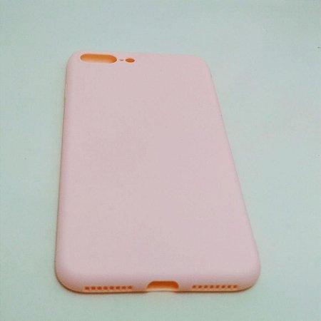 Capa flexível para iPhone 7 PLUS / 8 PLUS - Rosé