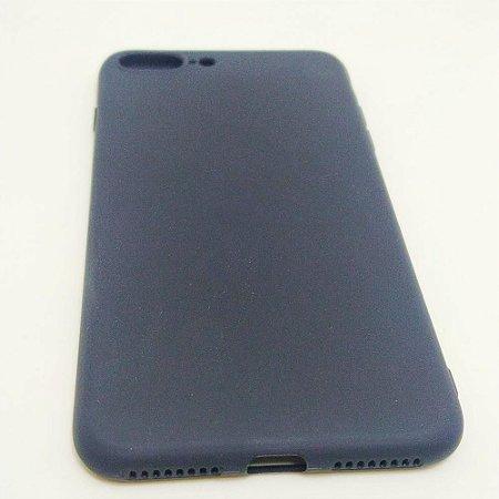 Capa flexível para iPhone 7 PLUS ou 8 PLUS - Preto