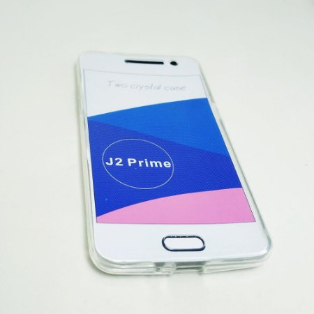 Capinha 360º Frente + Verso para Samsung J2 Prime - Transparente