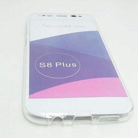 Capinha 360º Frente + Verso para Samsung S8 PLUS - Transparente