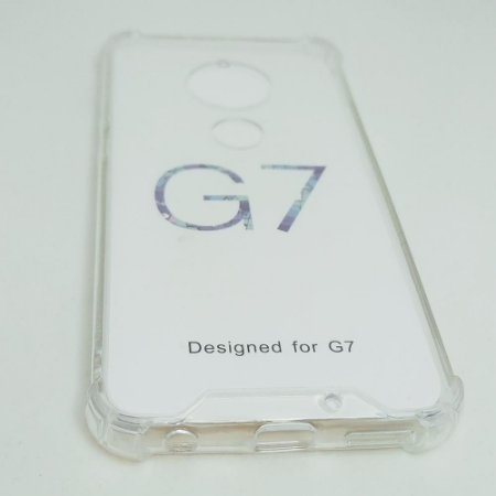 Capinha Acrílica com borda para Moto G7 / G7 PLUS - Transparente