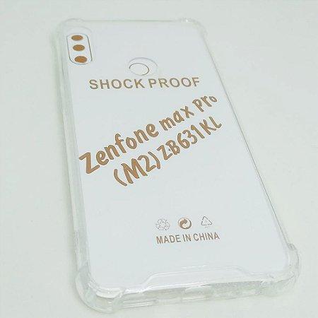 Capinha Acrílica com borda para Zenfone Max PRO (M2) ZB631KL