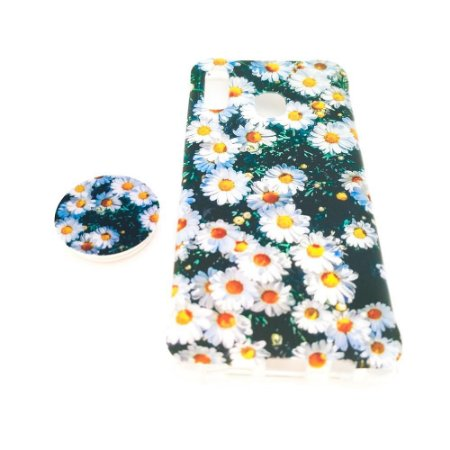 Capa para celular do Samsung A20 / A30 - Modelo Floral A