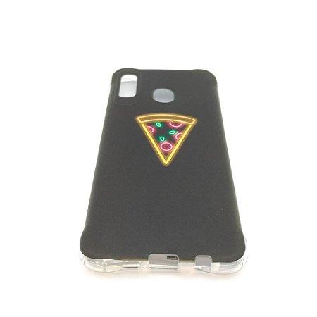 Capa para celular do Samsung A20 / A30 - Pizza