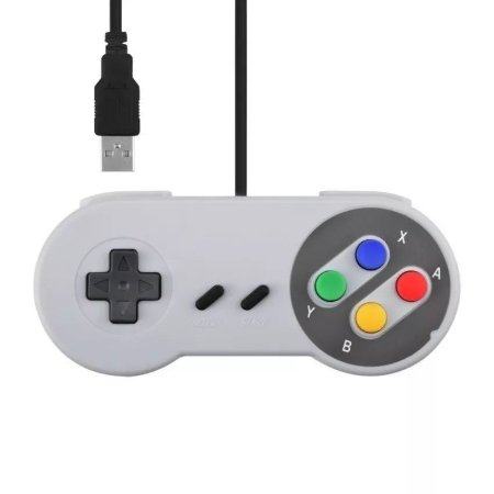 Controle USB Super Nintendo para PC / Notebook / Raspberry