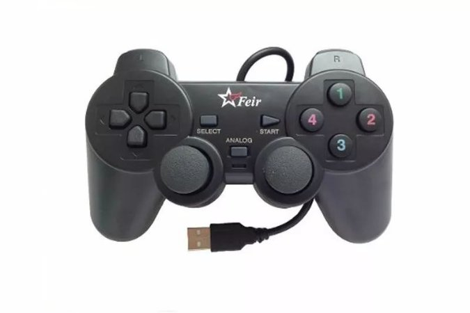 Controle USB Playstation