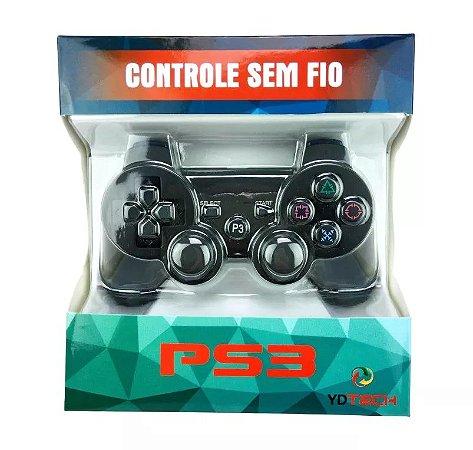 Controle PS3 Sem Fio Bluetooth Dualshock