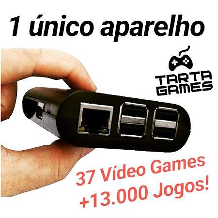 Vídeo Game Retrô +13.000 Jogos + Mochila Super Mario [Brinde]