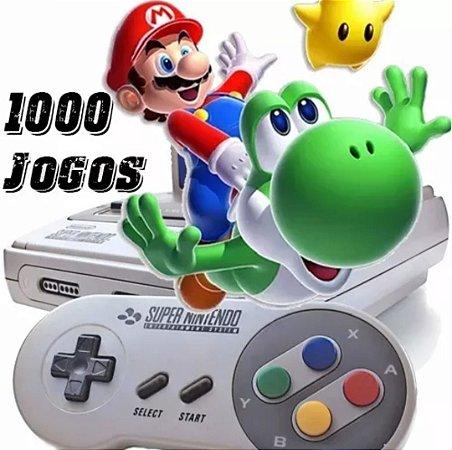 Sistema com 18 VídeoGames + 1.000 Jogos de Super Nintendo (Download Grátis para Windows)