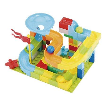 Block Track Slide - 54 peças