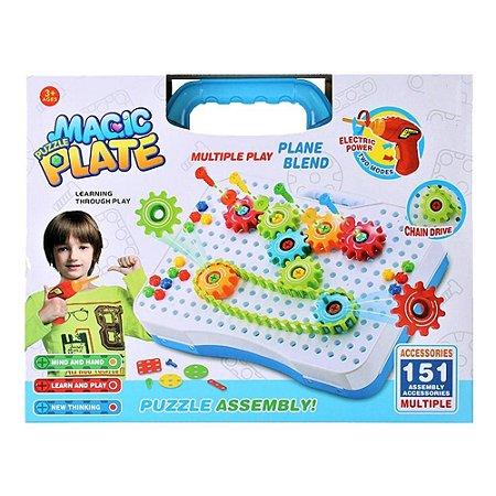 Puzzle Toys Magic Plate - 151 peças