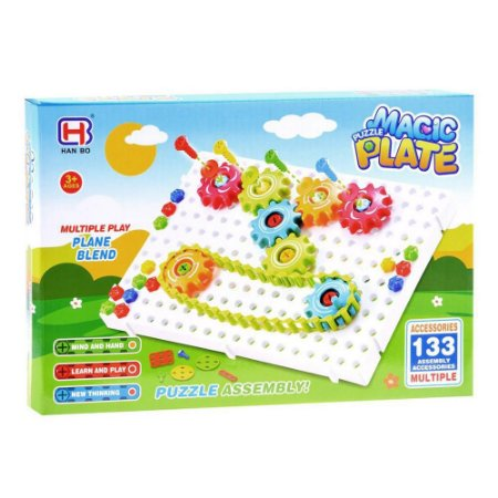 Puzzle Toys Magic Plate - 133 peças