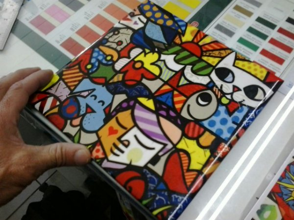 Azulejos (porta fotos)