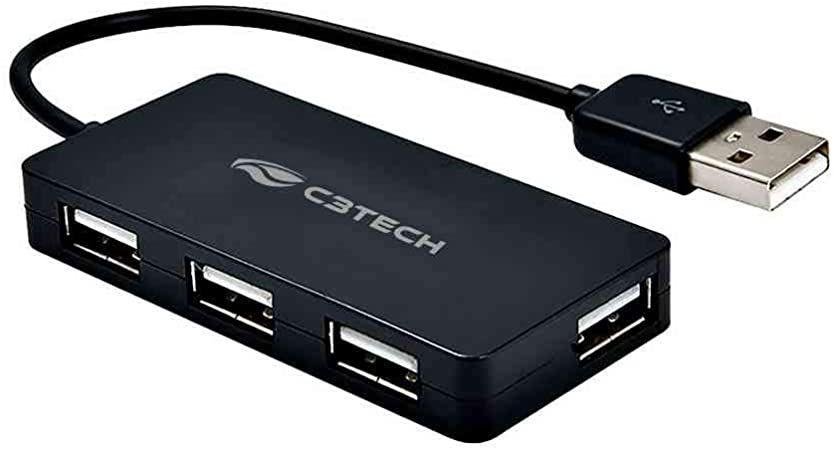 Hub USB 4 Portas USB 2.0