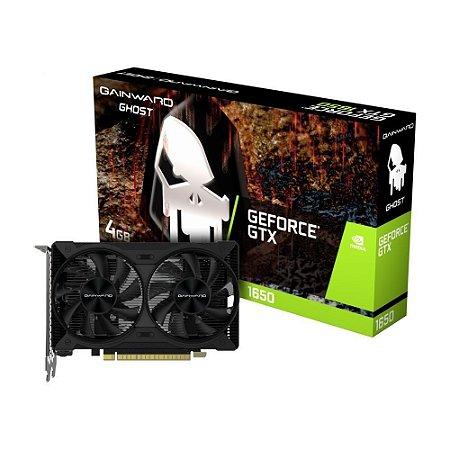 Placa de Vídeo Nvidia Geforce GTX 1650 D6 Ghost 4Gb DDR6 Gainward