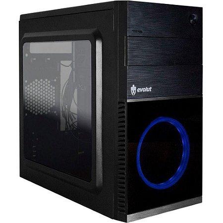 Gabinete Gamer Evolut Shin Cooler Azul - EG804