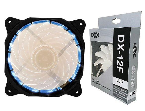 Cooler Gamer Fan 120MM Com Led Branco DX-12F