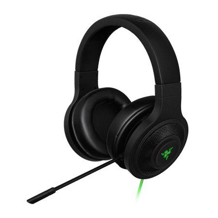 Headset Gamer Razer Kraken USB Black Com Microfone