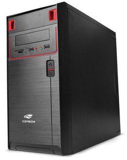 Gabinete C3 Tech Micro-ATX MT-21BK c/ Fonte