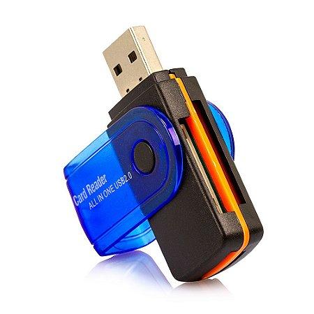 Leitor de Cartão USB 2.0 - Universal