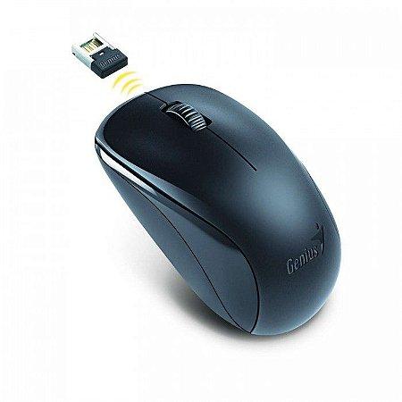 Mouse Genius Wireless NX7000 Blueeye 2,4 GHZ 1200Dpi Preto