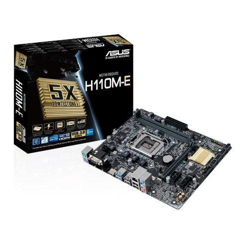 Placa Mãe Asus H110M-E M.2 DDR4 1151P VGA-HDMI