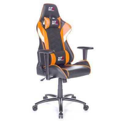 Cadeira Gamer DT3 Sports Elise Black Orange