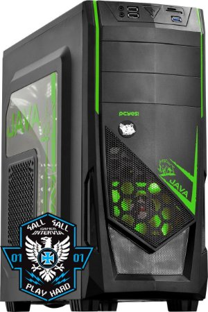 Computador Canis Major Intel Core i5 7400 3.0Ghz + 8GB DDR4 2133Mhz + HD 1TB + Nvidia GTX 1050Ti 4GB GDDR5