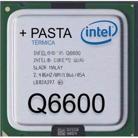 Processador Intel Core 2 Quad Q6600 2.40ghz 775 ( Semi - Novo )