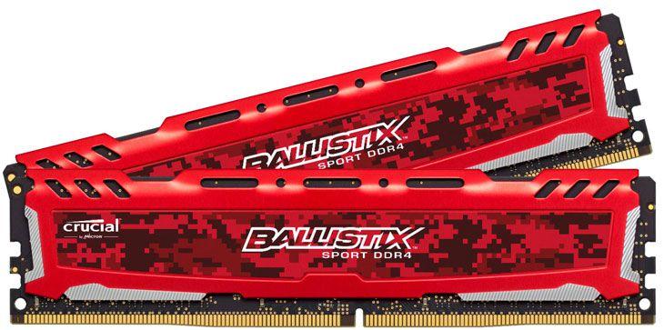 Memória Crucial Ballistix Sport 8GB 2666Mhz DDR4