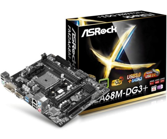 Placa Mãe Asrock FM2A68M-DG3+ DDR3