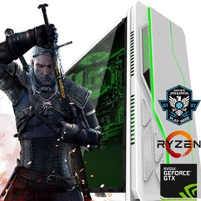 Computador Z-Gamer AMD Ryzen 1200 Quad Core 3.1Ghz + 8GB DDR4 + HD 1TB + Nvidia Geforce GTX 1060 3GB DDR5 192 Bits