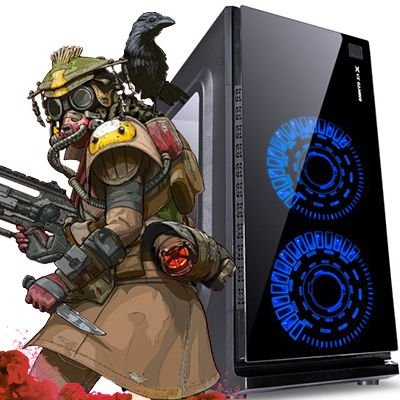 Computador Intervia Vega2 AMD Ryzen 2200G Quad Core 3.5Ghz + 8GB DDR4 + HD 1TB + Ati Radeon Vega