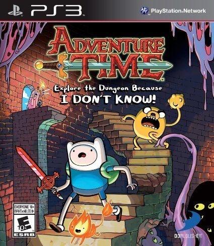 Adventure Time Explore the Dungeon - PS3 - Novo, Lacrado