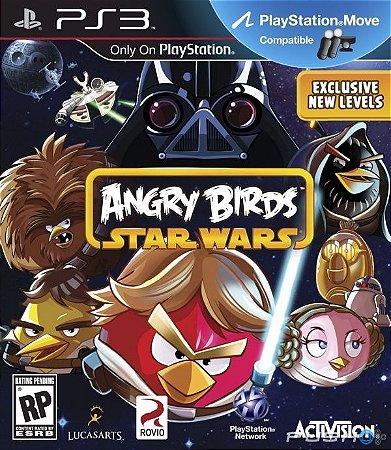 Angry Birds Star Wars - PS3 Mídia Física Usado