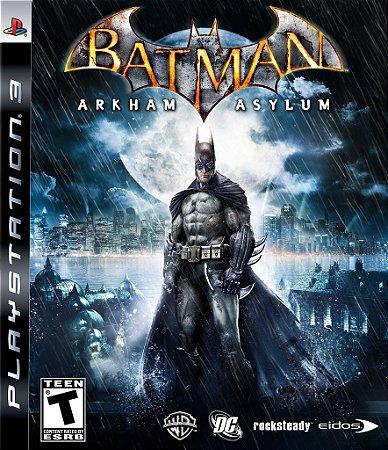Batman Arkham Asylum - PS3 Mídia Física Usado