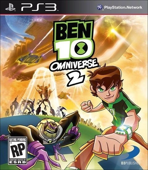 Ben 10 Omniverse 2 - PS3 Mídia Física Novo Lacrado