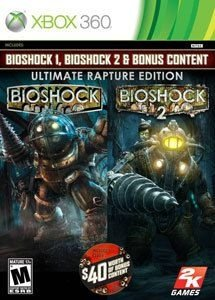 Bioshock 2 Ultimate Rapture Edition Xbox 360 Mídia Físca Usado