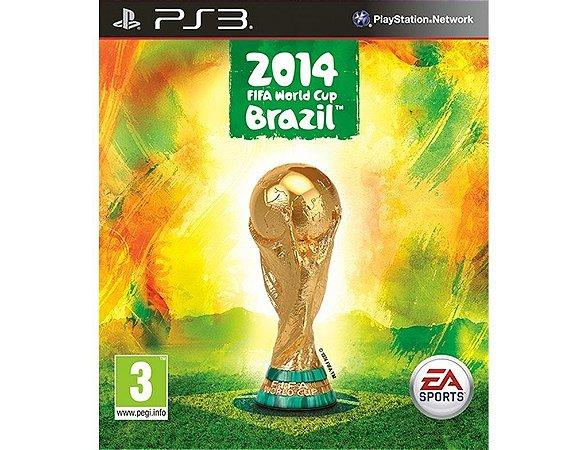 Copa Do Mundo Fifa Brasil 2014 - Ps3 Mídia Física Novo Lacra