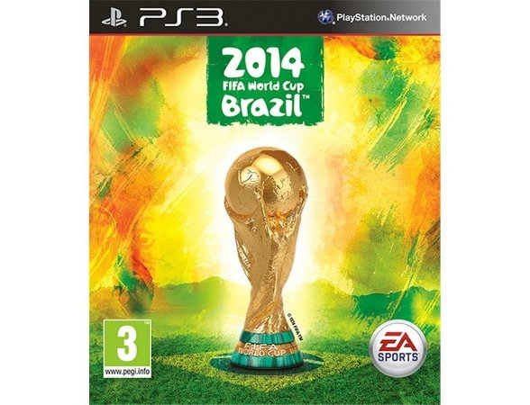 Copa Do Mundo Fifa Brasil 2014 - Ps3 Mídia Física Usado