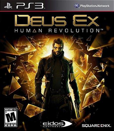 Deus Ex Human Revolution - Ps3 Mídia Física Usado