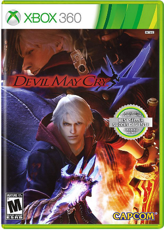 Devil May Cry 4 - Xbox 360 Mídia Física Usado