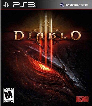 Diablo 3 - PS3 Mídia Física Usado
