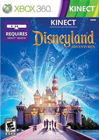 Disneyland Adventures Kinect - Xbox 360 Mídia Física Novo Lacrado
