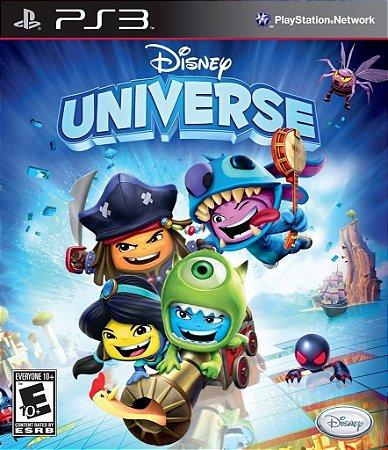 Disney Universe - Ps3 Mídia Física Usado