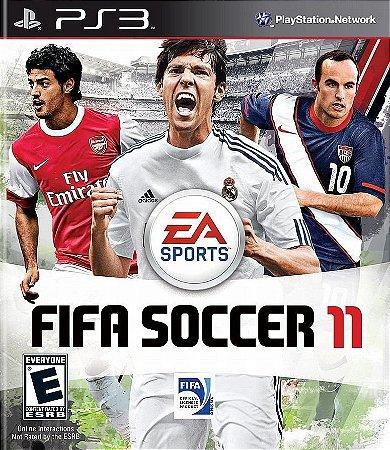 Fifa Soccer 11 - Ps3 Mídia Física Usado