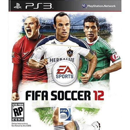 Fifa Soccer 12 - Ps3 Mídia Física Usado