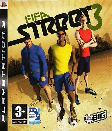 Fifa Street 3 - PS3 Mídia Física Usado