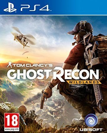 Ghost Recon Wildlands - PS4 Mídia Física Novo Lacrado